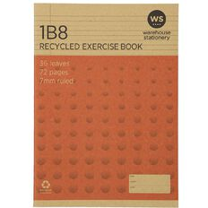 WS Recycle 1B8 Exercise Book