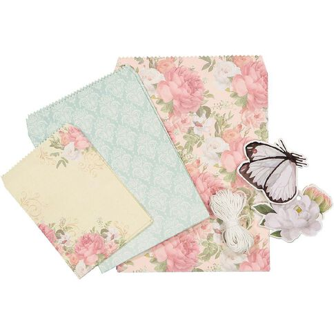 Uniti Gift Wrapping DIY Kit Vintage Floral