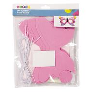 Kookie Foam Fun Glasses Accessory Pack Butterfly