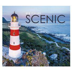 John Sands Calendar 2019 New Zealand Scenic Desk 200mm x 180mm