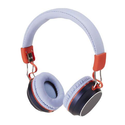 Positivity Wireless Headphones Blue/Red