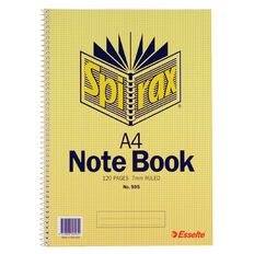 Spirax 60 Leaf Notebook 297mm x 210mm