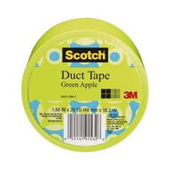 Scotch Duct Craft Tape 48mm x 18.2m Apple Green