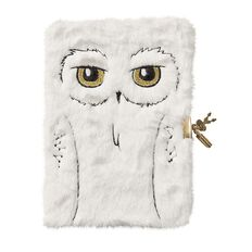 Harry Potter Fluffy Diary With Lock