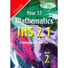 Nulake Year 12 Mathematics Ias 2.1 Coordiante Geometry