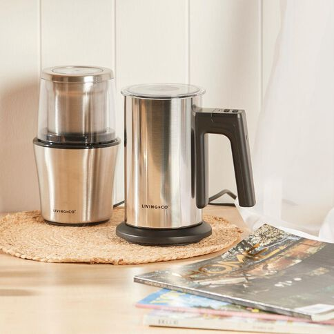Living & Co Milk Frother Silver