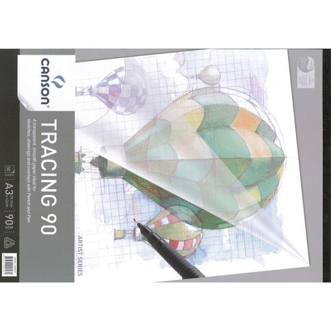 Canson Tracing Pad 90gsm A3
