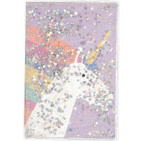 Kookie Rainbow Sparkles Notebook A5