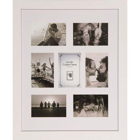 Uniti Lincoln Collage Frame White 40 x 50cm White