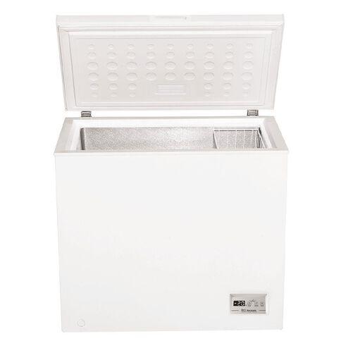 Akai Digital Display Chest Freezer 200 Litre White