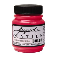 Jacquard Textile Colours 66.54ml Fluorescent Red