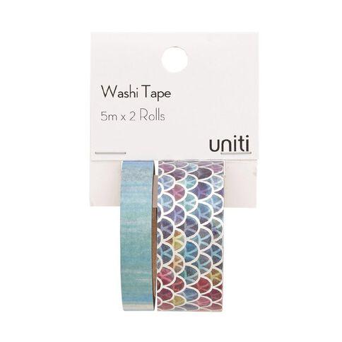 Uniti Washi Tape Mermaid 2 Pack