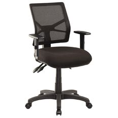 Jasper J Advance Air Black with Adjustable Arms