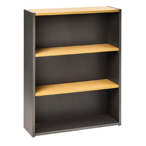 Jasper J Emerge Bookcase 1200 Beech/Ironstone