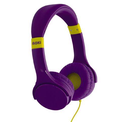 Moki Lil Kids Headphones Purple