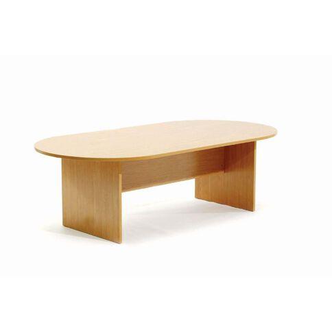Ergoplan Boardroom Table 2400 Tawa