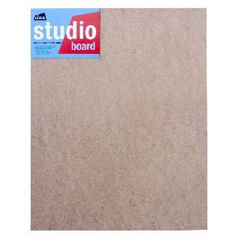 DAS Studio 3/4 Hardboard 16 x 20 Brown