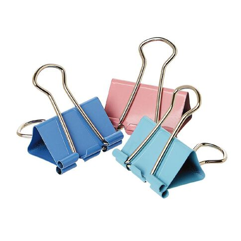WS Foldback Clips 32mm 6 Pack Colour