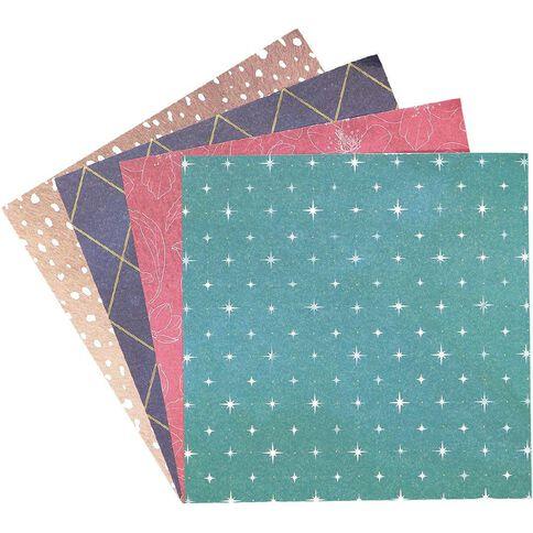 Rosie's Studio Bows & Bells 6in x 6in Designer Paper Pad 40 Sheet