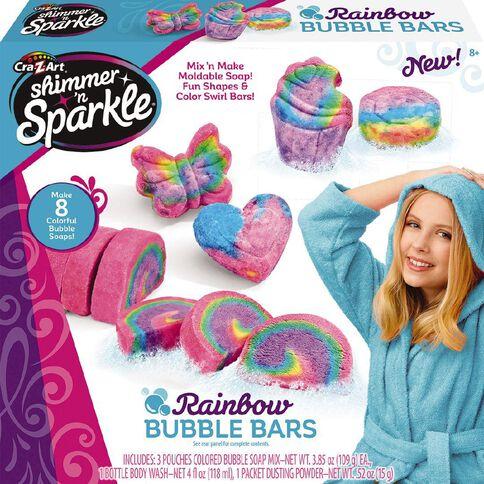 Shimmer n Sparkle Rainbow Bubble Bars