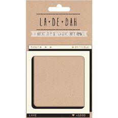 La De Dah Vintage Film Frames 4 Pack Brown