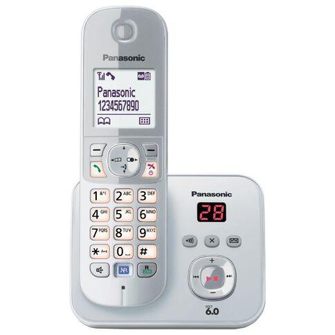 Panasonic Kx-Tg6821Nzs Cordless Phone With Answerphone Silver