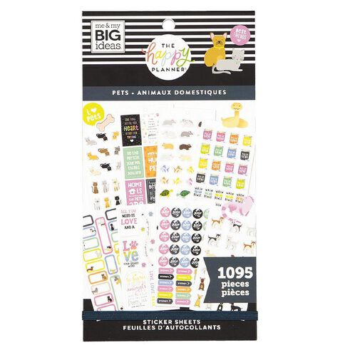 Me & My Big Ideas Sticker Book Pets