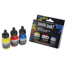 Liquitex Ink 30ml Primaries 3 Pack