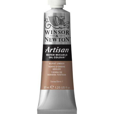 Winsor & Newton Artisan 37ml 076 Burnt Umber Brown