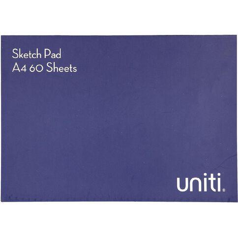 Uniti Sketch Pad 60 Sheets A4