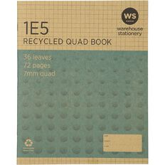WS Recycle 1E5 Exercise Book