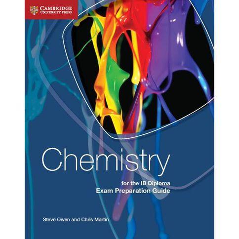 Ib Diploma Year 12 Chemistry Exam Prep