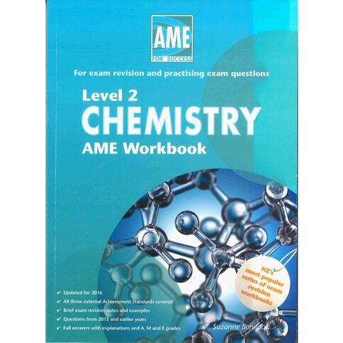 Ncea Year 12 Chemistry Workbook
