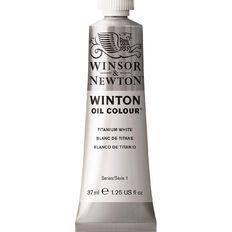 Winsor & Newton Winton Oil Paint 37ml Titanium White