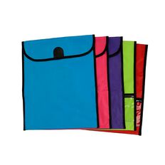 Xl Homework Bag Assorted 460mm x 360mm Multi-Coloured