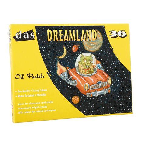DAS Dreamland Oil Pastels 36 Pack