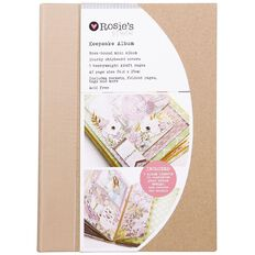 Rosie's Studio Keepsake Album and Accessory Set 5 Page A5