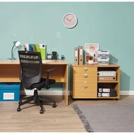 Workspace Harvard Desk 1500 Tawa