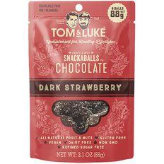Tom & Luke Snackaballs Chocolate Strawberry 88g