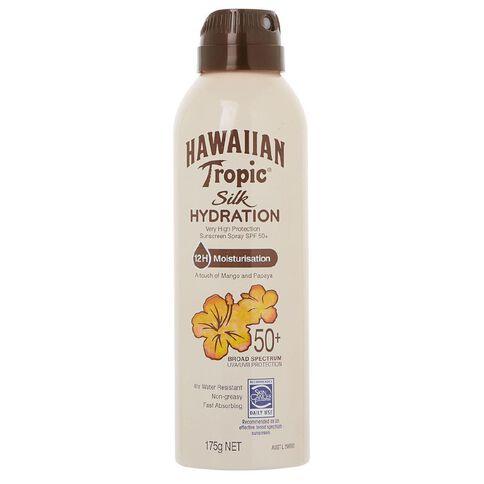 Hawaiian Tropic Silk Hydration Spray 175gm