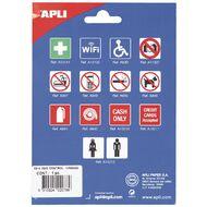 APLI Self Adhesive Sign Fire Hose