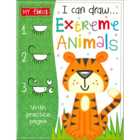 I Can Draw - Extreme Animals
