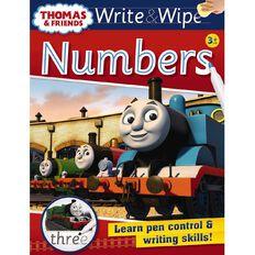 Thomas Write and Wipe Numbers
