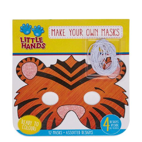 Little Hands Mask Making Pad Jungle Animals