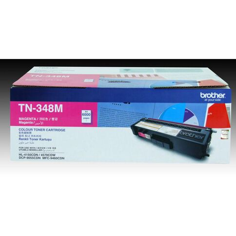 Brother Toner TN348 Magenta (6000 Pages)