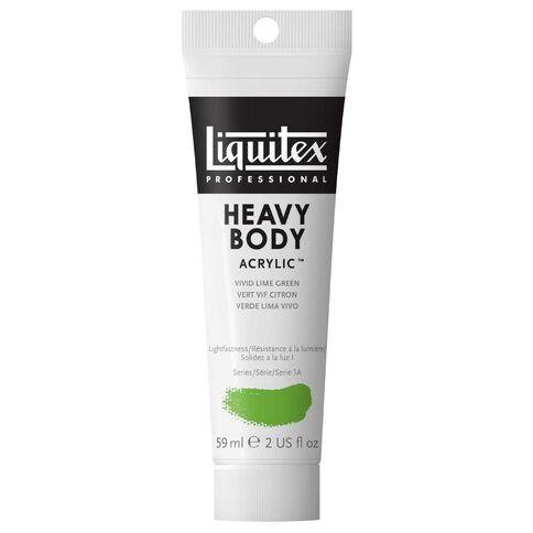 Liquitex Heavy Body Acrylic 59ml Vivid Green Green