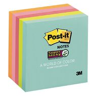 Post-It Super Sticky Notes Miami Collection 5 Pack