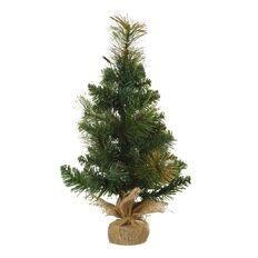 Wonderland Christmas Tree Light Up Glitter 43 Tips 15 LED 45cm