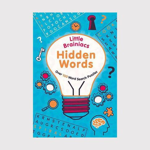 Little Brainiacs: Hidden Words