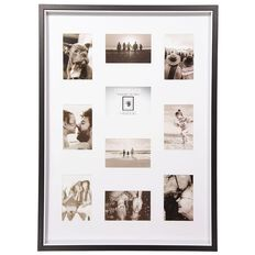 Living & Co Two Tone Collage Box Frame Black 50cm x 70cm